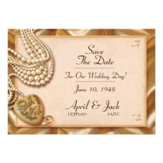 Romantic Vintage Wedding Love Personalized Invitations