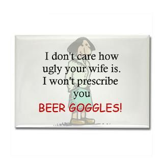 prescribe beer goggle rectangle magnet 100 pack $ 153 99 prescribe