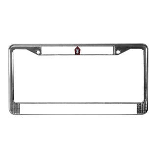 Attack Squadron License Plate Frame  Buy Attack Squadron Car License