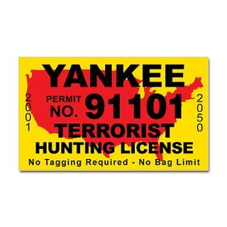 Terrorist Hunting Stickers  Car Bumper Stickers, Decals