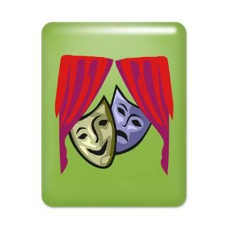 Acting Gifts  Acting IPad Cases  COMEDY & TRAGEDY MASKS iPad