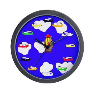Cartoon Planes Clock  Buy Cartoon Planes Clocks