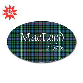 Tartan   MacLeod of Skye Sticker (Bumper 10 pk)