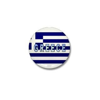 Greece Flag Labeled  International Car Stickers