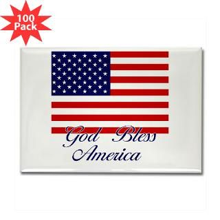 american flag god bless america rectangle magnet $ 189 99