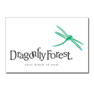 Dragonfly Forest Logo Postcards (Package of 8)