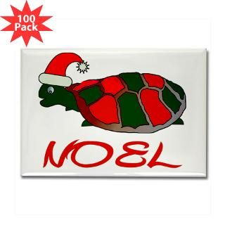 turtle christmas rectangle magnet 100 pack $ 189 99