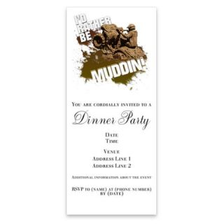4x4 ATV Muddin Invitations by Admin_CP352230  506921005