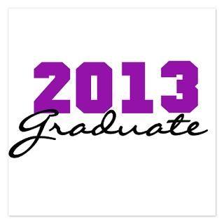 Invitations  High School College Graduation Class 2013 Invitation