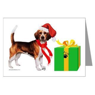 Beagle Christmas Greeting Cards  Buy Beagle Christmas Cards