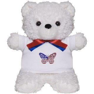 911 Gifts  911 Teddy Bears  American Butterfly Teddy Bear