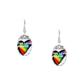 Love Gifts  Love Jewelry  Earring Oval Charm