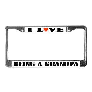 Grandparent License Plate Frame  Buy Grandparent Car License Plate