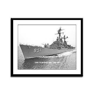 USS TURNER JOY Framed Panel Print  THE USS TURNER JOY (DD 951) STORE