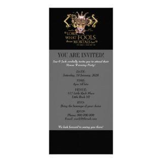 Midsummer Nights Dream Quote (Gold Version) Custom Invite
