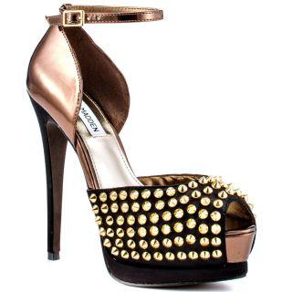 Steve Madden Black Satin Shoes   Steve Madden Black Satin