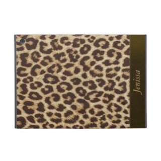 Custom Leopard Print iPad Mini Case