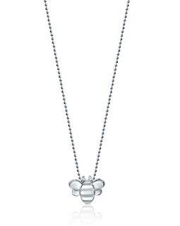 Woo Sterling Silver Little Seasons Bee Necklace, 16