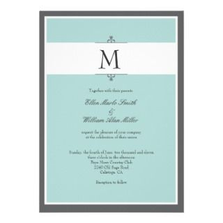 Damask Your Photo Wedding Invitations