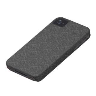 Black Filigree iPhone 4/4S Case Mate Case iPhone 4 Case Mate Case