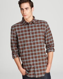 plaid flannel sport shirt classic fit orig $ 98 00 sale $ 49