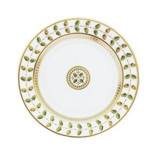 bernardaud constance salad plate price $ 113 00 color green gold