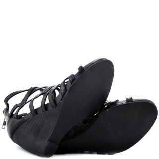 Steve Maddens Black Tricklee   Black Leather for 99.99