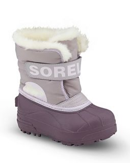 Sorel Girls Snow Commander Boots   Sizes 4 7 Infant