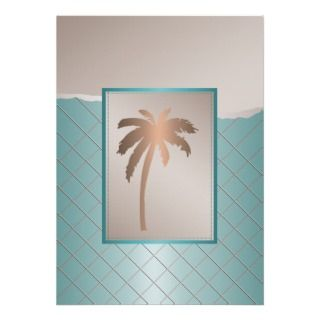 Palm Tree Wedding Invitations