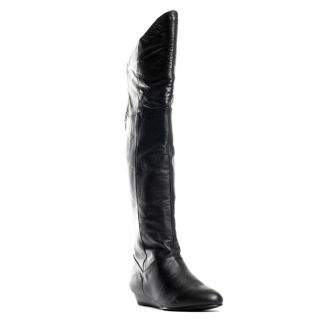 Turbo Boot   Black leather, Chinese Laundry, $101.69