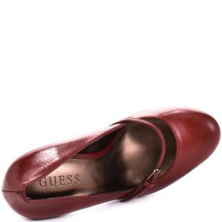 Artie   Dark Red Leather, Guess, $87.99