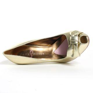Catalina Heel   Gold, Paris Hilton, $78.99,