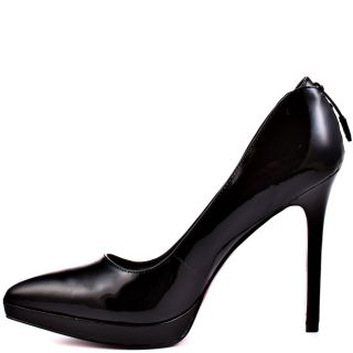 Paris Hiltons Black Tamora   Black Patent for 99.99