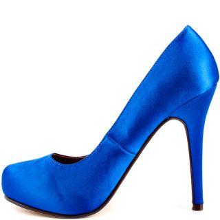 Michael Antonios Blue Love Me   Blue Satin for 49.99