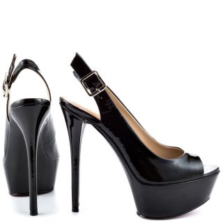 Paris Hiltons Black Nia   Black Patent for 99.99