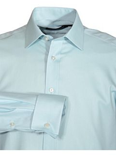 Paradigm by Double TWO Non iron micro twill Duck Egg