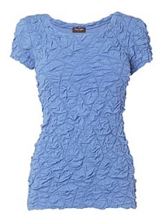 Phase Eight Nadine jersey top Azure   House of Fraser