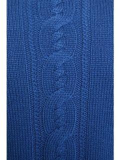 Minuet Petite Dark Blue Cable Cardigan Dark Blue