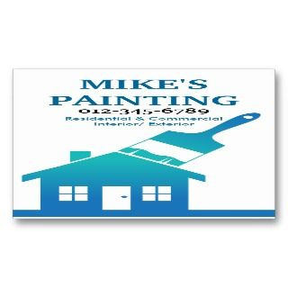 House Painters Business Card