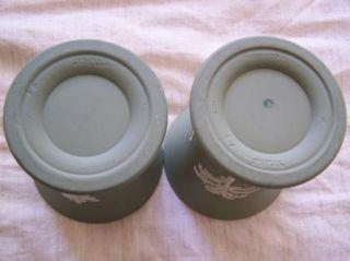 Wedgwood Pottery Sage Green Jasperware Vase Urn Cup Toothbrush