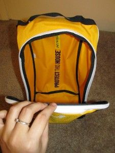 New Under Armour Performance Large Shoes Bag Yellow Black