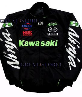 Kawasaki Ninja Jacket Jackets Clothing Motorcycle Moto GP Gear Size M