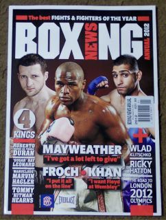 BOXING NEWS Annual 2012 Best Fights & Fighters Of The Year MAYWEATHER