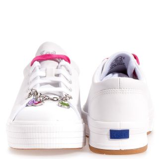 Keds Glisten Leather Casual Boy Girls Kids Shoes