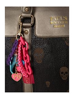 Pauls Boutique Alice laser skull bag Black   House of Fraser
