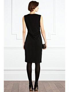 Coast Olivia sleeveless jersey dress Black
