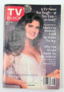 Lot of 2 TV Guides from 1987 Dolly Parton Brooke Shields Collectible