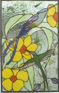 Stained Glass Supplies Exotic Bird Panels Patterns