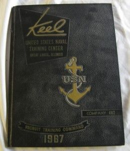 1967 Keel United States Navy Great Lakes Illinois 2