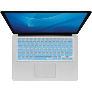 KB Covers Silicone Keyboard Cover for MacBook Air Blue Checkerboard